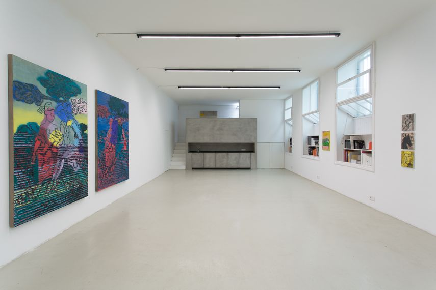 The Picture is a Forest, Installation View at Galerie Lisa Kandlhofer