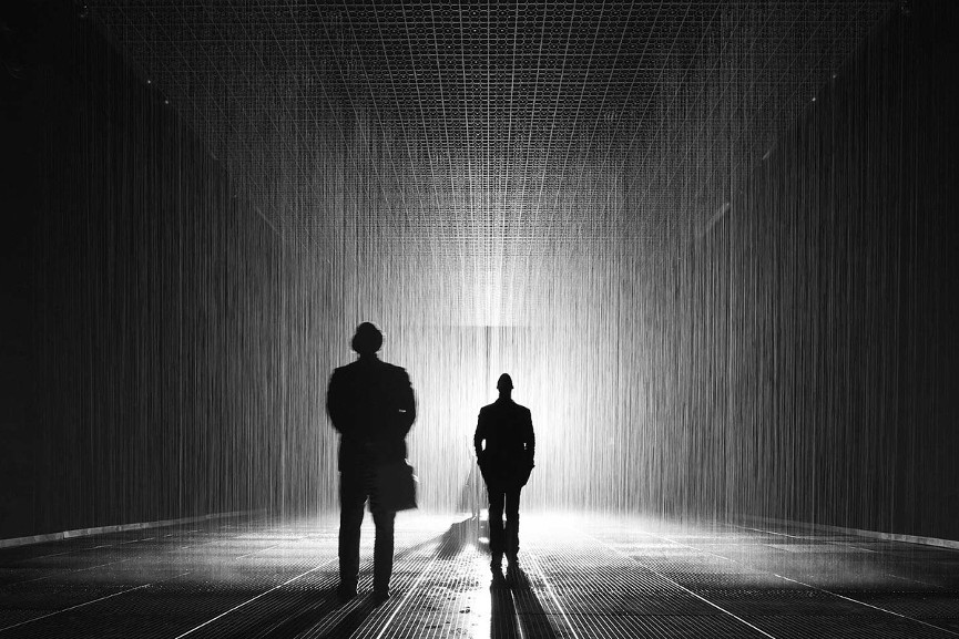The Rain Room at LACMA - Image via travelandleisurecom