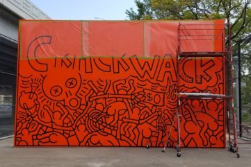 How Louise Hunnicutt Brought Keith Haring's Crack is Wack Mural Back to Its Original Glory