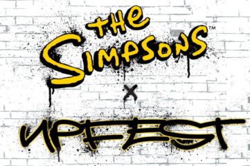This Summer, The Simpsons are Coming to Bristol, Thanks to Upfest Street Art Festival!
