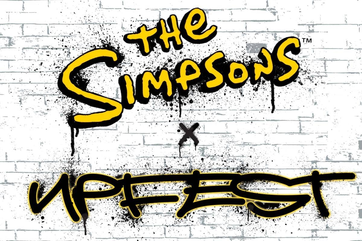 The Simpsons x Upfest