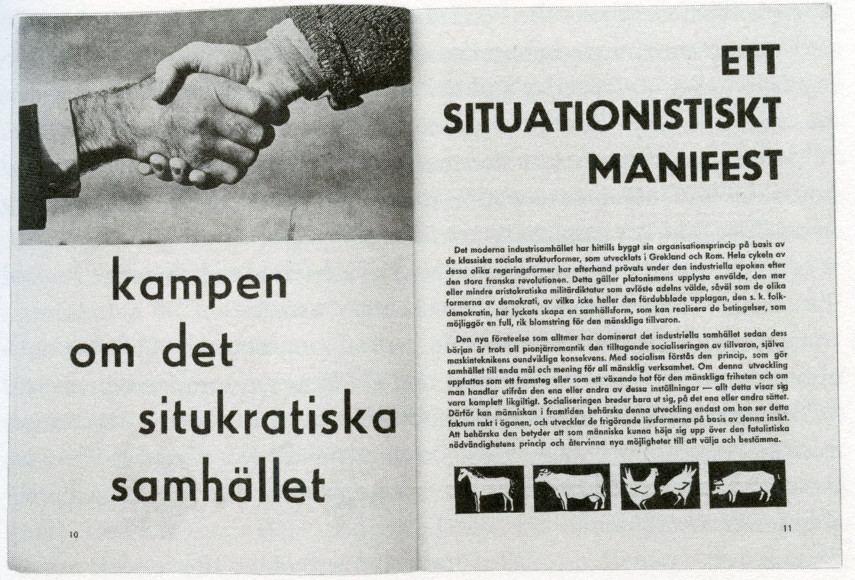 The Situationist International manifesto - Image via pinterestcom