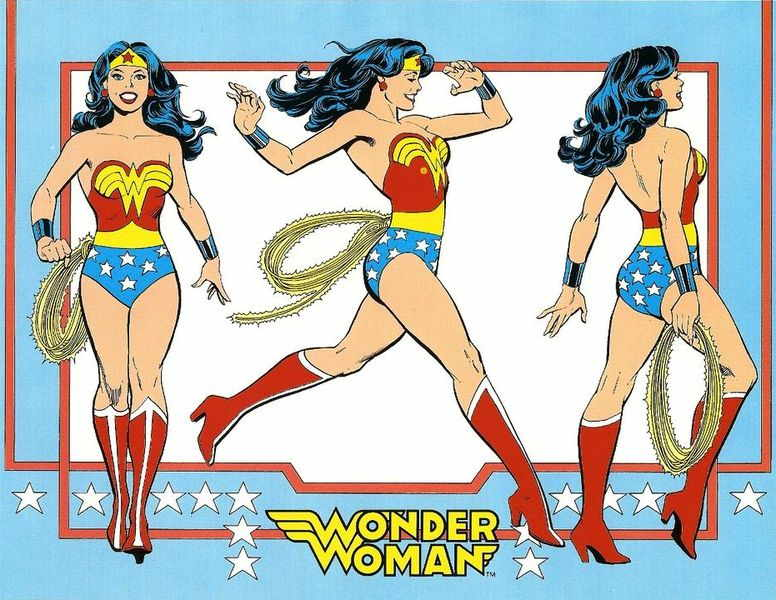 The Wonder Woman Comic, via techtimes com