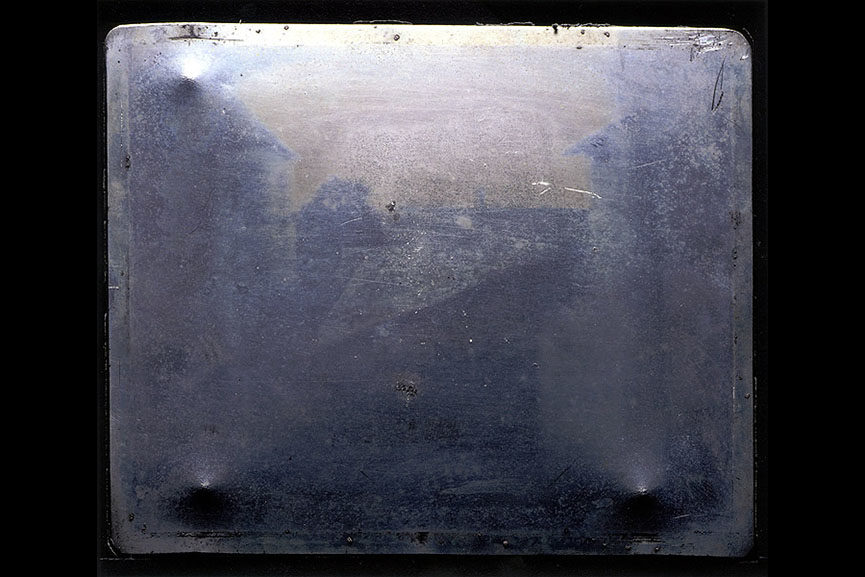 photograph daguerreotype known niépce time france film