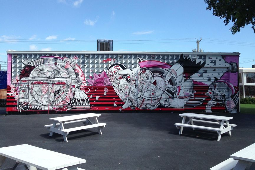 The Wynwood Walls birthday, an event taking place during Art Basel Miami Beach