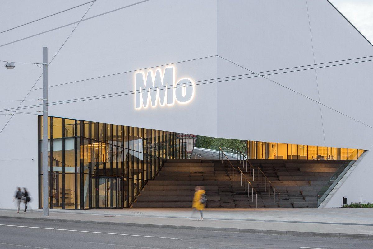 The building of Mo Museum by Norbert Tukaj