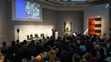 The first Christie's Art & Tech Summit focused on blockchain's potential for the art business, Credit Christie's Images