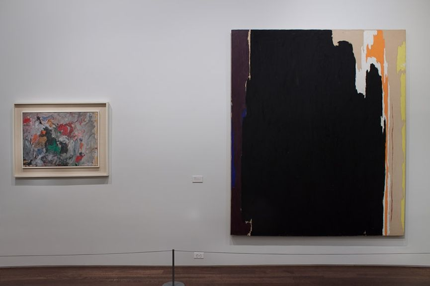 The installation view of the collection at Acquavella Galleries.