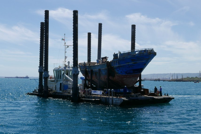 The migrant shipwreck