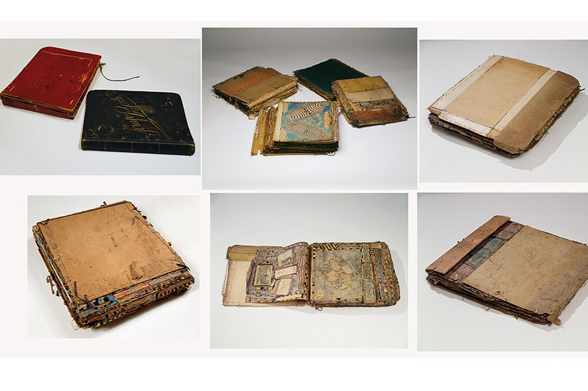 The original scrapbooks of Charles A.A. Dellschau from 1898 - 1922