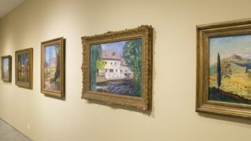 The paintings of Sir Winston Churchill - installation view