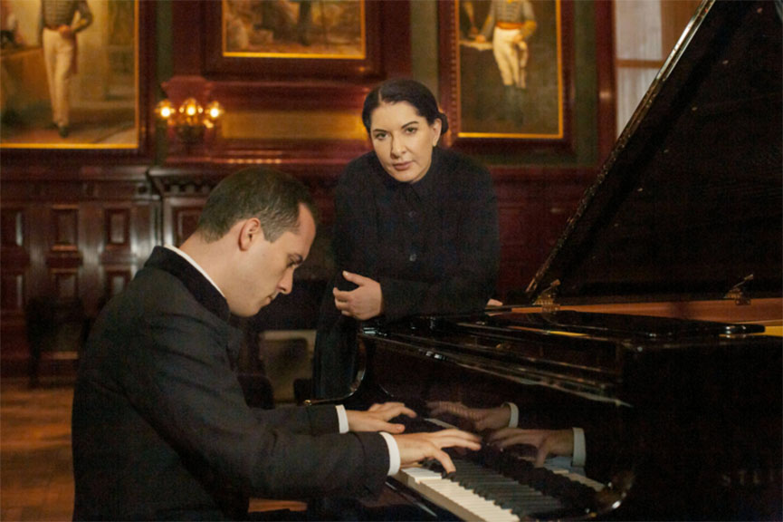 Marina Abramovic Igor Levit variations audience time work