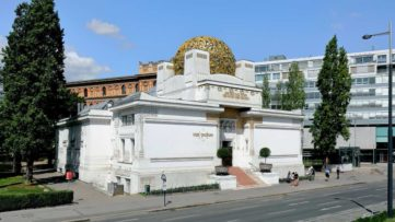 The secession building in Vienna