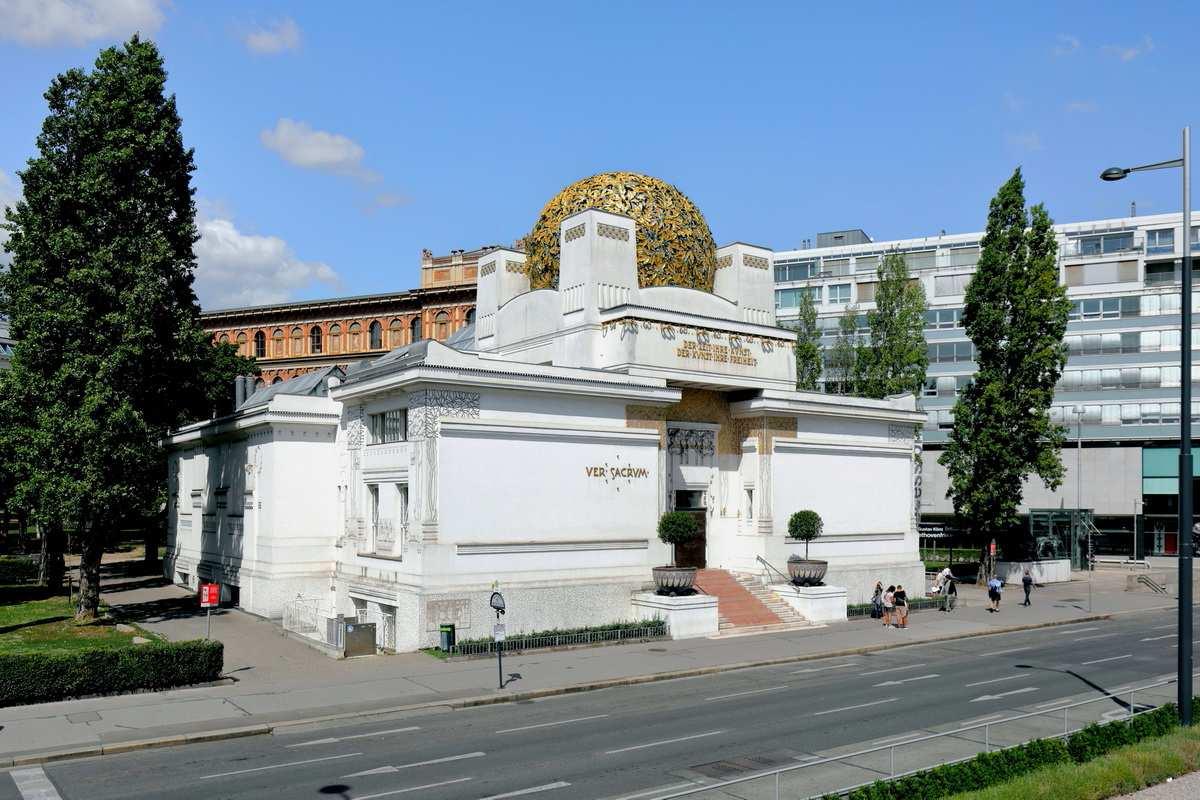 The secession building in Vienna