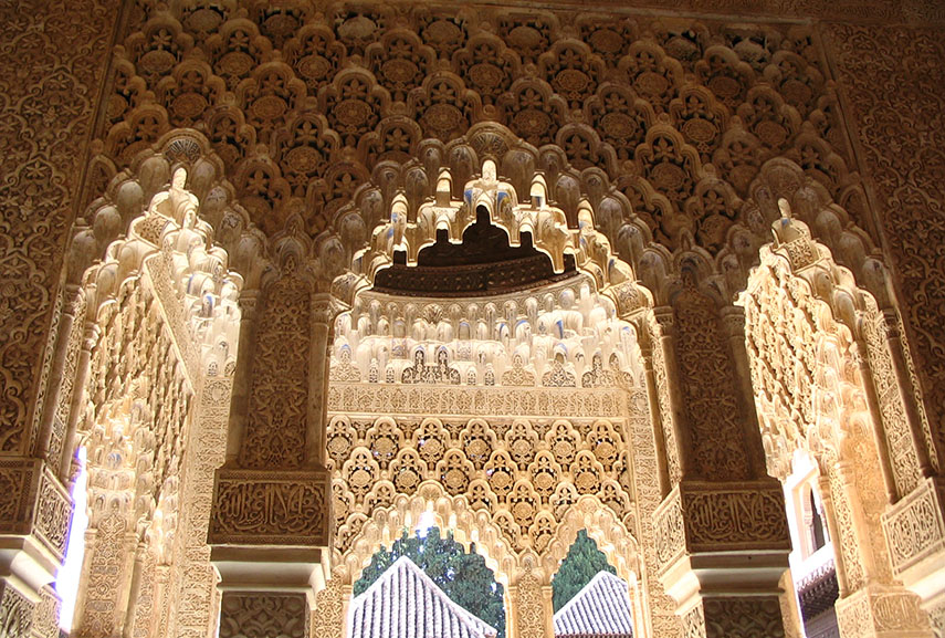 An example of tessellations in architecture