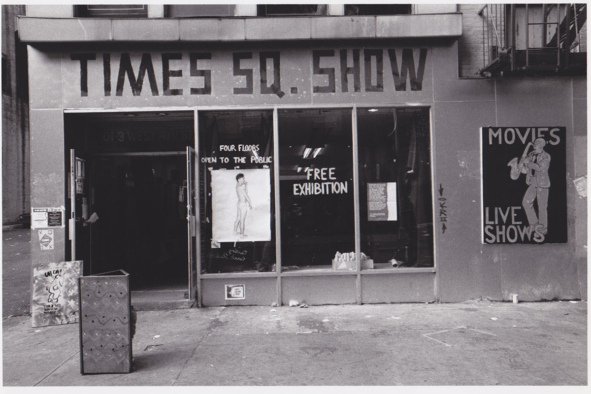 How The Times Square Show Changed The New York Art World in 1980