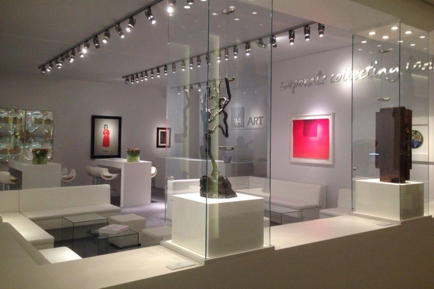 corporate art services design healthcare solutions portfolio consultation