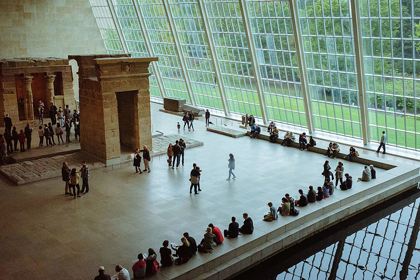 The Sackler Wing at The Met Museum
