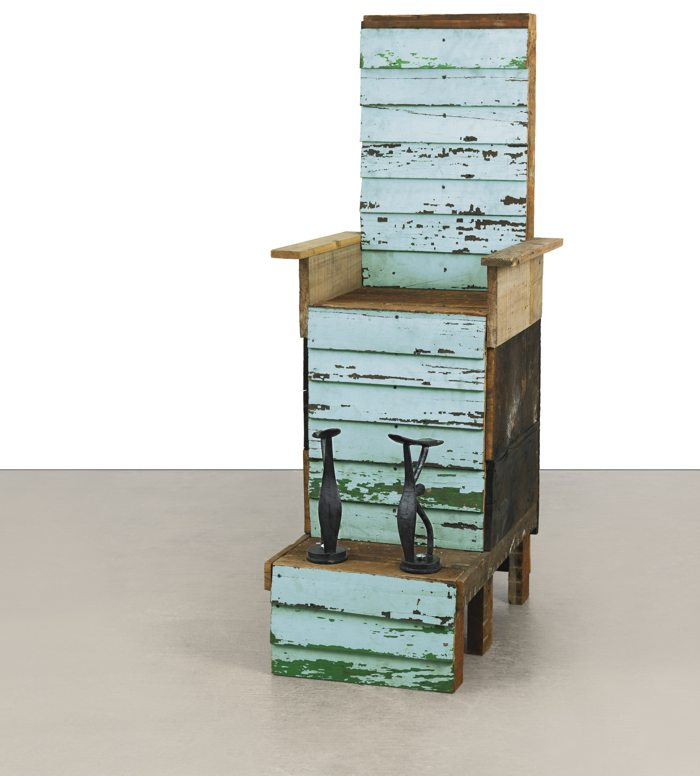 Theaster Gates-Throne, Toward The Close Of Day-2010