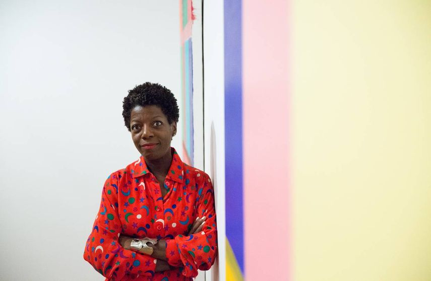 Thelma Golden has a very successful curatorial career and presented many contemporary works