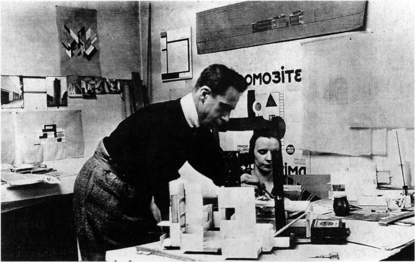 Theo and Nelly van Doesburg, 1923