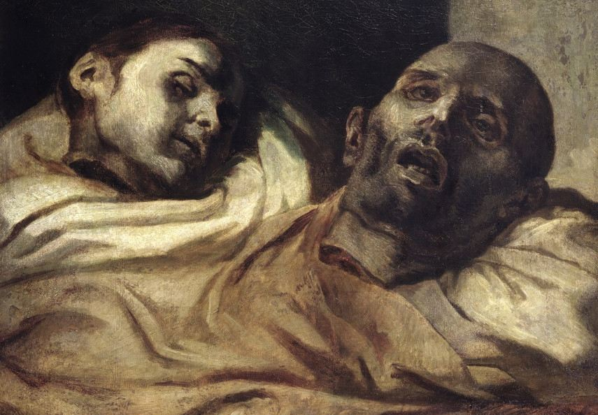 A painter of the shocking and the disturbed, Theodore Gericault authored a series called Anatomical Pieces that shook the art world to its foundations