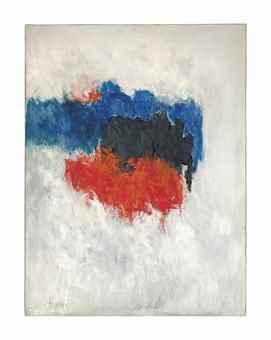Theodoros Stamos-Listening Hills Low Sun-1958