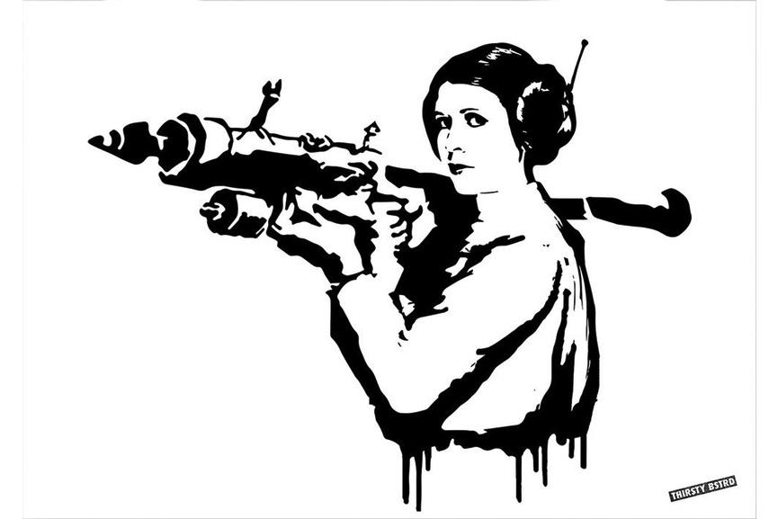 Thirsty Bstrd - Princess Leia Bazooka Rocket