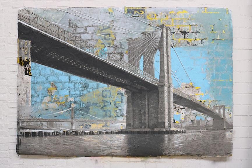Thomas Baumgärtel – Brooklyn Bridge