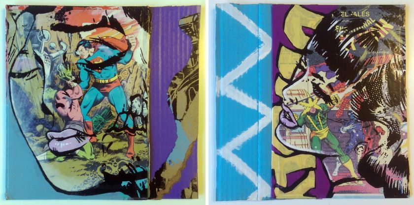 Thomas Brothers - Heroes & Villains 1 and 2, 2015 - Courtesy of Vertical Gallery
