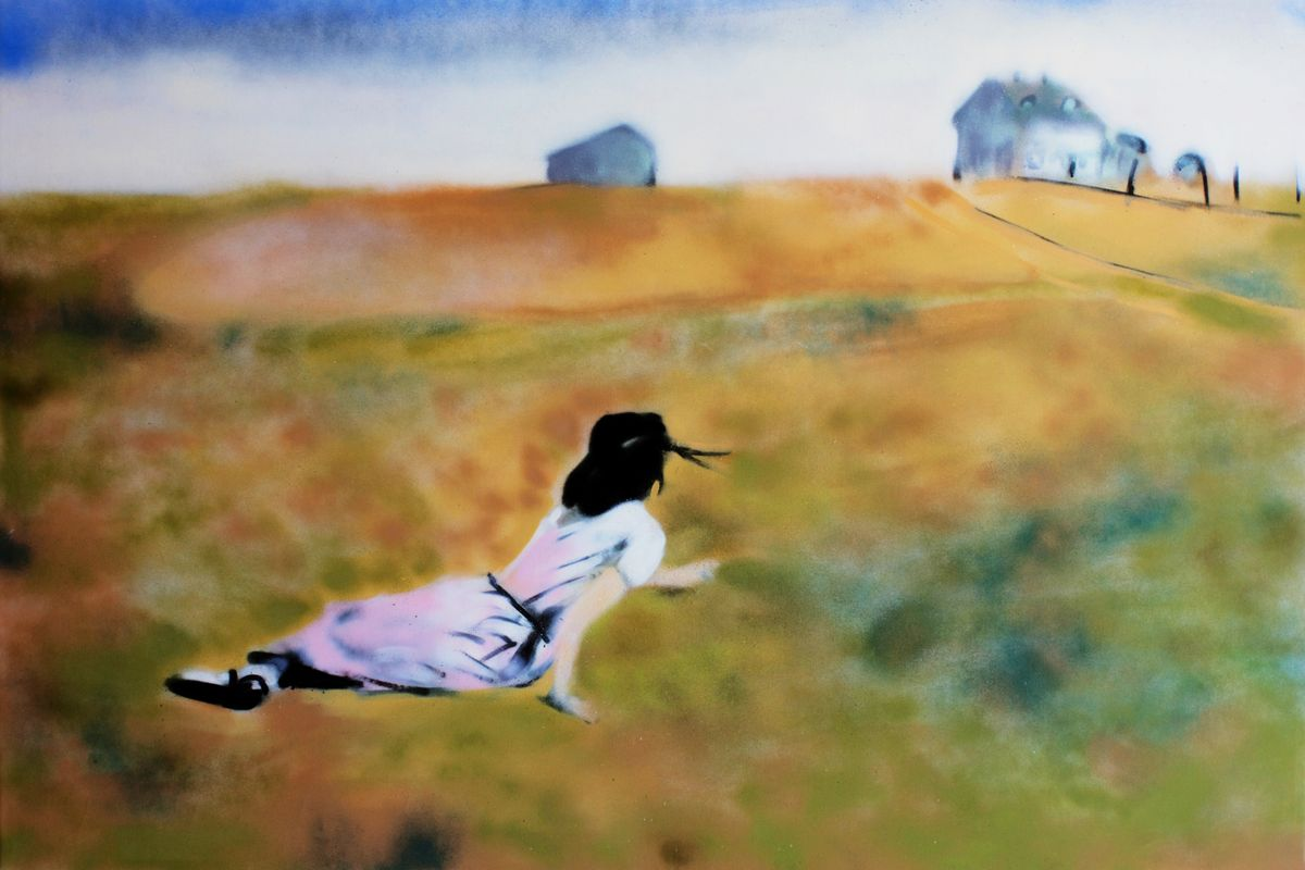 Thomas Buildmore - Christina (after Andrew Wyeth), 2017