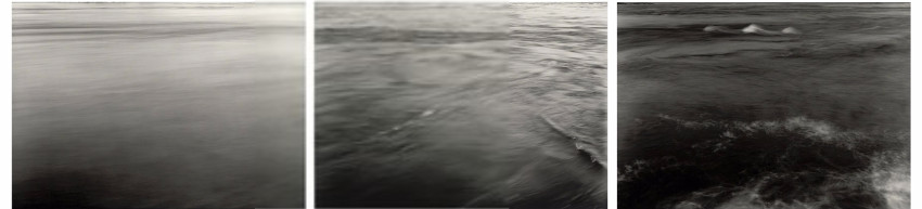 Thomas Joshua Cooper - Whirl - the Sea River, 1997-2014, South Atlantic water is a contact of north work