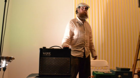 Thomas Kovachevich - the artist Performance at Show Room, 2012