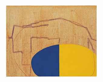 Thomas Nozkowski-Untitled (8-86)-2007
