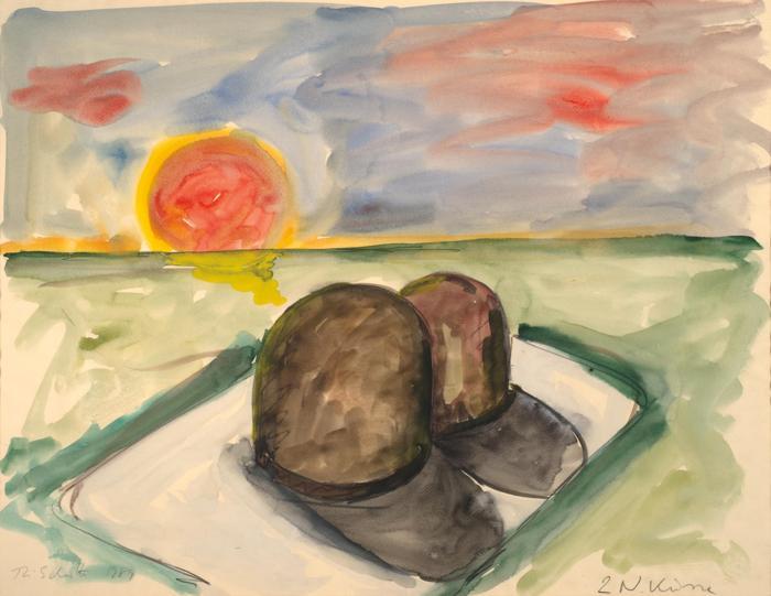 Thomas Schutte-2 N. Kusse-1989