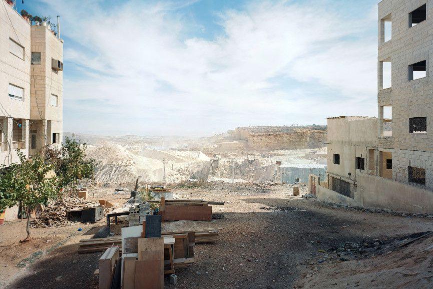 Al-Ram Quarry, Kafr 'Aqab 2011