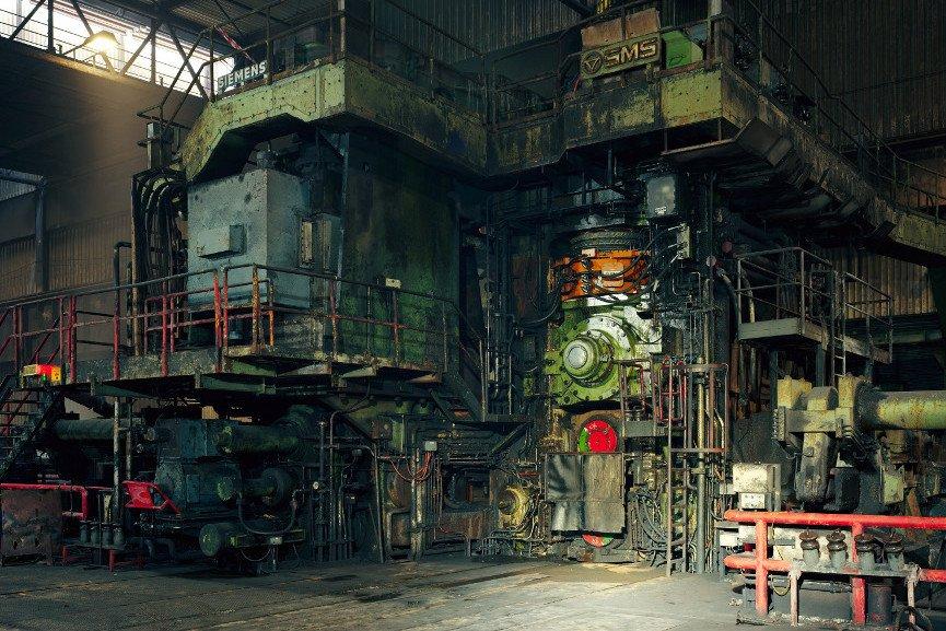 """Hot Rolling Mill, Thyssenkrupp Steel, Duisburg 2010"""""""