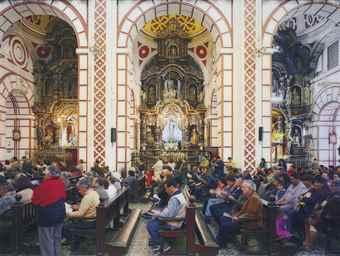 Thomas Struth-Iglesia de San Francisco, Lima-2003