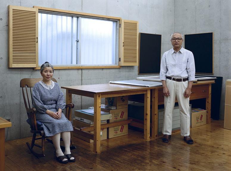 Thomas Struth - Kyoko and Tomoharu Murakami, Tokyo, 1991