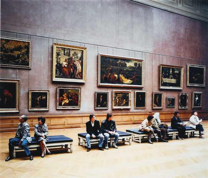Thomas Struth-Louvre III-1990