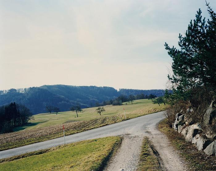 Thomas Struth-Wegmundung bei Winterberg, Landschaft No. 29, Winterthur-1993