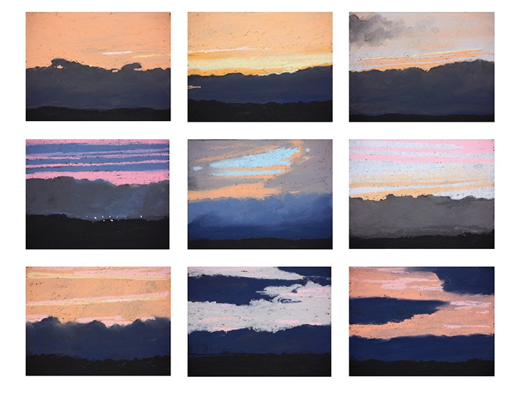 Thomas Verny - Sunrise-Fouscais, 2014