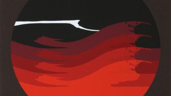 Thomas W Benton - Gate Series Red, 1980 (detail)