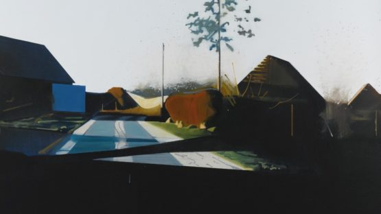 Thoralf Knobloch - Hinter Den Scheunen (Behind the Barn), 2003 (detail) - Copyright Thorlaf Knobloch