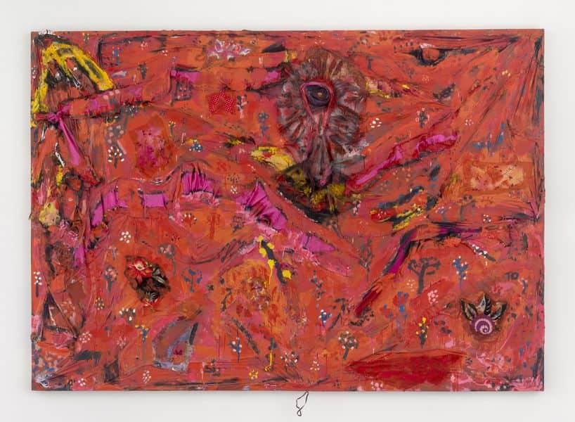 Thornton Dial - Ground Zero - Decorating the Eye, 2002 on view at EXPO CHICAGO