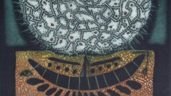 Tighe ODonoghueRoss - Seascape with Moon, ca 1975 (detail)