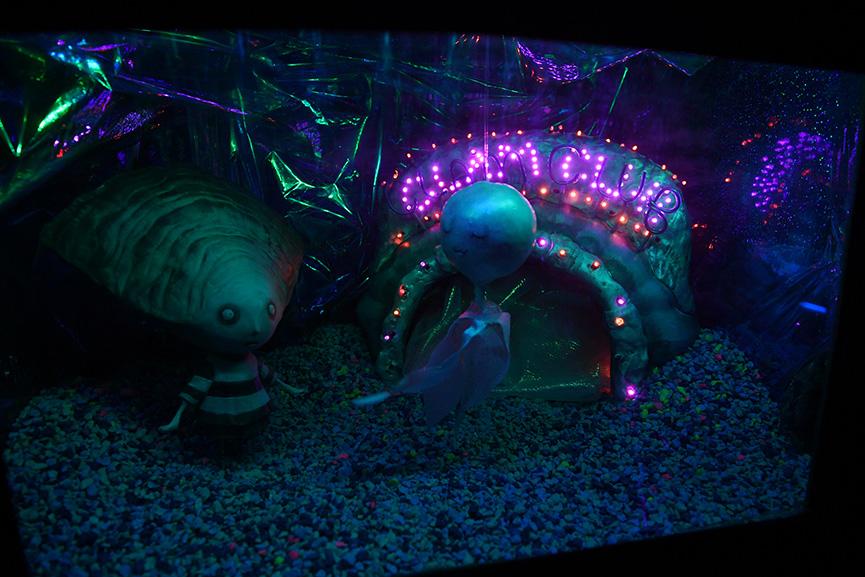 Tim Burton at The Neon Museum