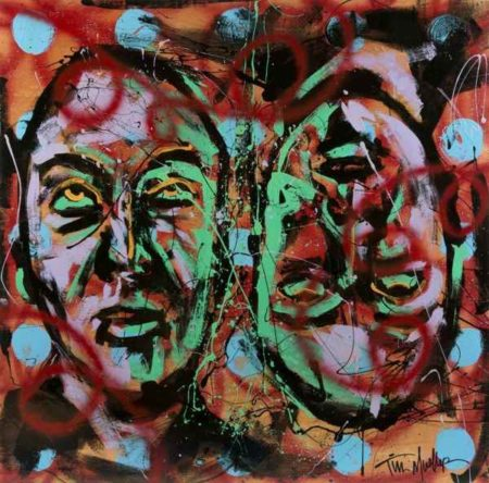 Tim Mueller-Self Portrait: Looking Up-2014