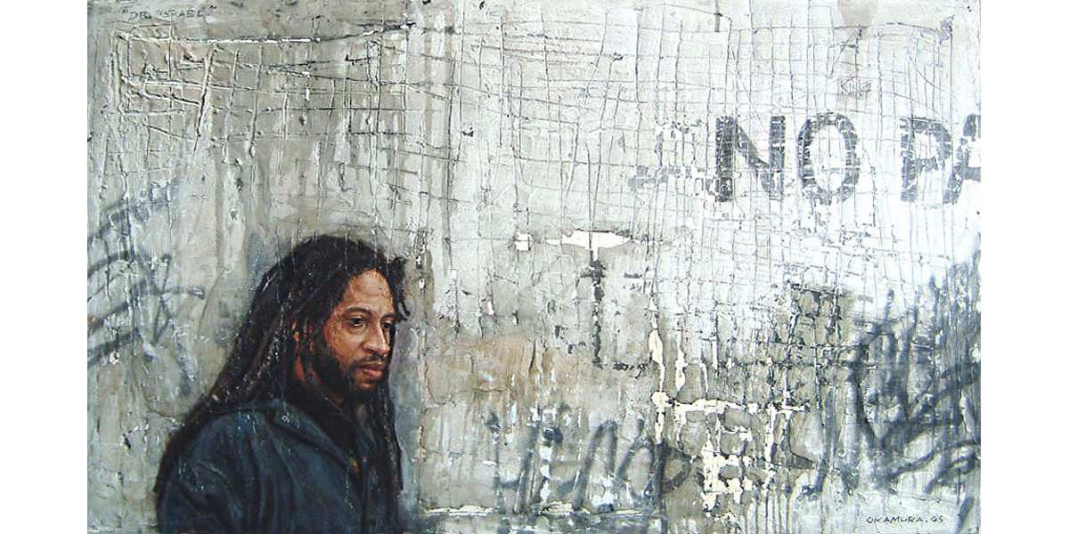 Tim Okamura - Portrait of Doug (Dr. Israel), 1995, visual arts blog