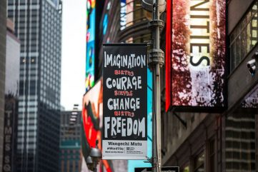 Word on the Street - Female Artists Take Over Times Square